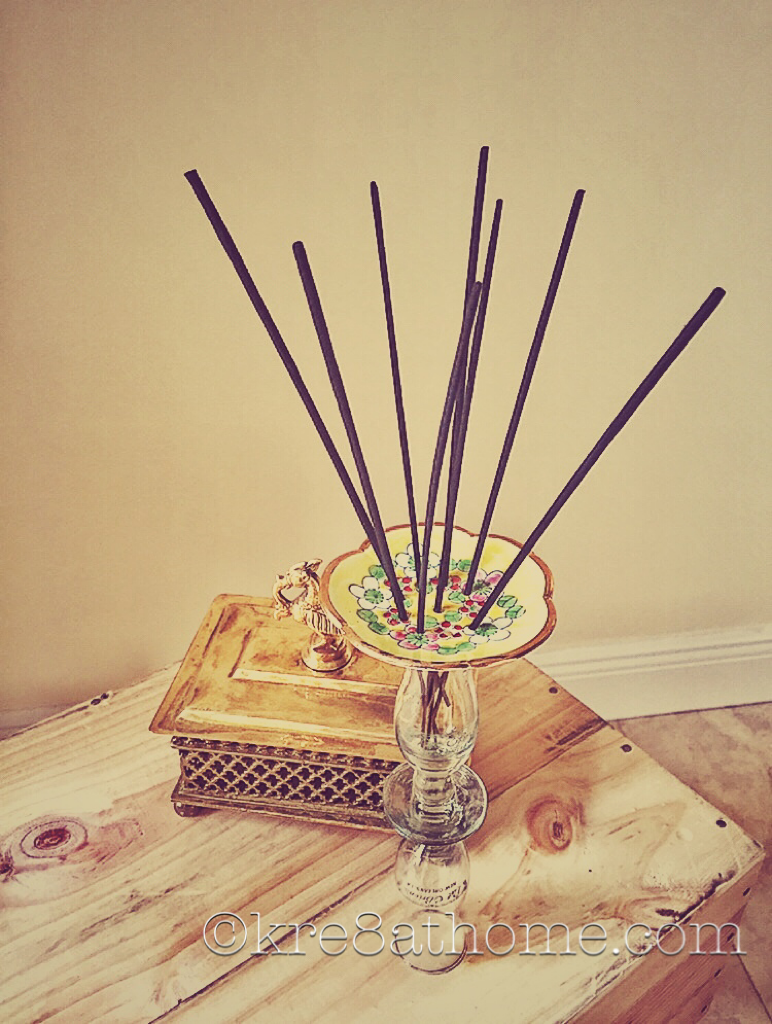 diy incense holder – kre8athome